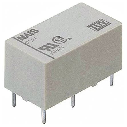 SPDT PCB Mount Latching Relay 5 A, 12V dc For Use In Industrial Electronics Applications product photo