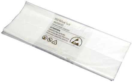 RS PRO Static Dissipative Liner Refuse Sack 600mm x 450 mm