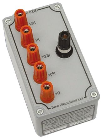 Time Electronic 1068 Decade Box, Decade Box Type Resistance, Best Maximum Resistance Accuracy 1Ω