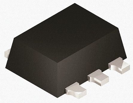 PMDT290UCE,115 Dual N/P-Channel MOSFET, 550 mA, 20 V, 6-Pin SOT-666 product photo