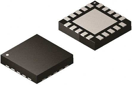 Microchip PIC16F720T-I/ML, 8bit PIC16F Microcontroller, 16MHz, 2048 words  Flash, 20-Pin QFN