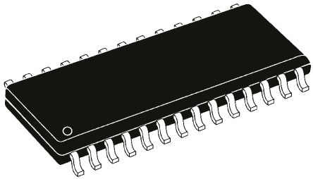 Microchip PIC16F723A-E/SO, 8bit PIC16F Microcontroller, 20MHz, 4096 words Flash, 28-Pin SOIC