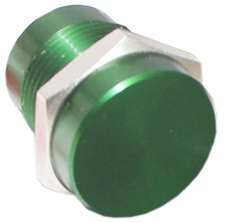 Green Wire Lead Piezo Switch, , IP68, 200 mA @ 24 V, 1-pole on-off switch, -40 -> +125°C product photo
