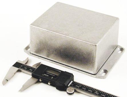 1590 Aluminium Enclosure, IP65, Flanged, 119.5 x 94 x 56.5mm product photo