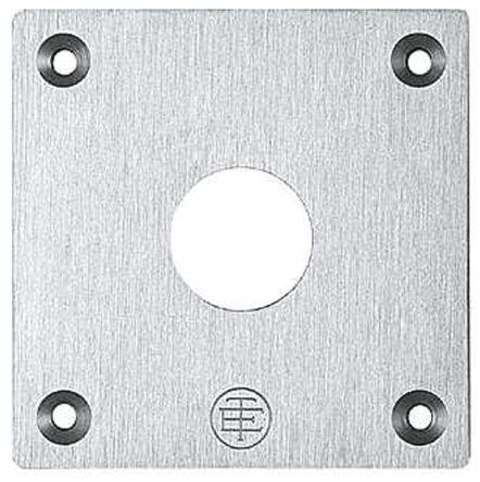Schneider Electric Harmony XAP Push Button Enclosure, 1 Hole, 22mm Diameter  None Aluminium