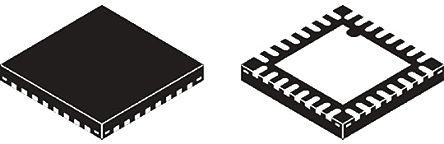 MKL26Z128VFM4, 32bit ARM Cortex M0+ Microcontroller, 48MHz, 128 kB Flash, 32-Pin QFN product photo