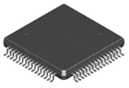 MKE02Z64VQH2, 32bit ARM Cortex M0+ Microcontroller, 20MHz, 64 kB Flash, 64-Pin QFP product photo