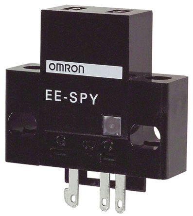 Convergent Photoelectric Sensor 2 -> 5 mm Detection Range NPN IP50 Block Style EE-SPY411 product photo