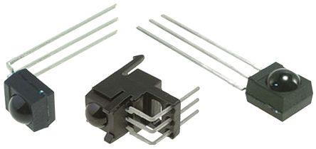 Vishay TSOP32338SS1V, 38kHz IR Receiver ±45 °, 45m Range, 2.5 V - 5.5V, Through Hole, 6 x 5.6 x 6.95mm