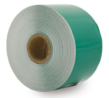 Kroy Green Continuous Vinyl Roll, 50 mm Width, 40 m Length