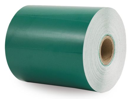 Kroy Green Continuous Vinyl Roll, 100 mm Width, 40 m Length