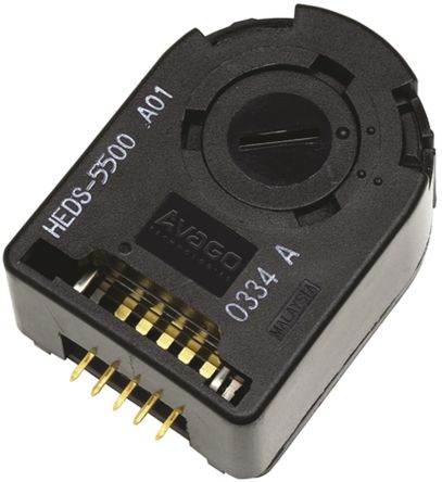 Broadcom Incremental Encoder 30000rpm Round 4.5 → 5.5 V dc