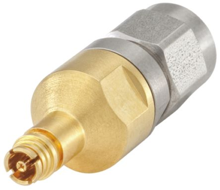 Straight 50O RF Adapter SMP Female to SMA Male 0 -> 40GHz product photo