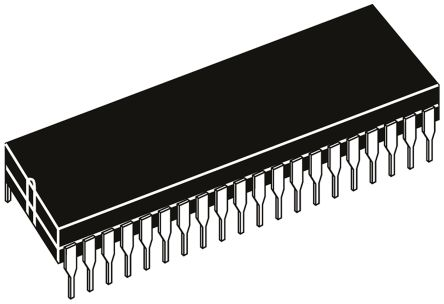AY0438-I/P, LCD Driver, 4-Digits 32-Segments, 3 to 8.5 V, 40-Pin PDIP