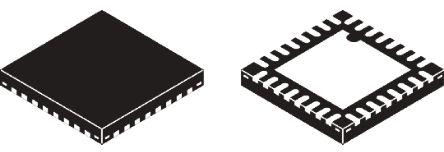 Silicon Labs C8051F587-IM, 8bit 8051 Microcontroller, 50MHz, 96 kB Flash, 32-Pin QFN