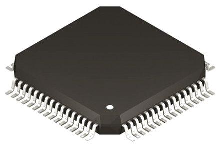 Silicon Labs C8051F045-GQ, 8bit 8051 Microcontroller, 25MHz, 64 kB Flash, 64-Pin TQFP