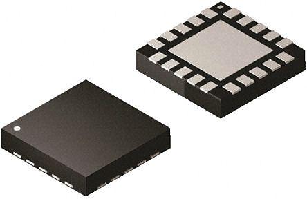 Silicon Labs Si4463-B1B-FM, RF Transceiver 142MHz to 1050MHz 20-Pin QFN