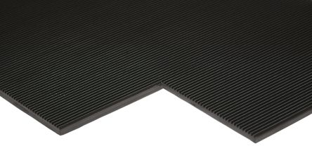 RS PRO Anti-Slip Electrical Safety Mat EN61111 Class 0 1m x 1m x 3mm