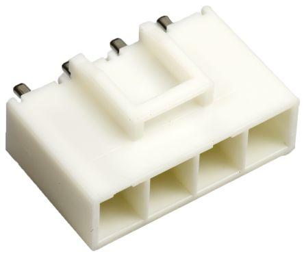 JST, VL, B04P, 4 Way, 1 Row, Straight PCB Header