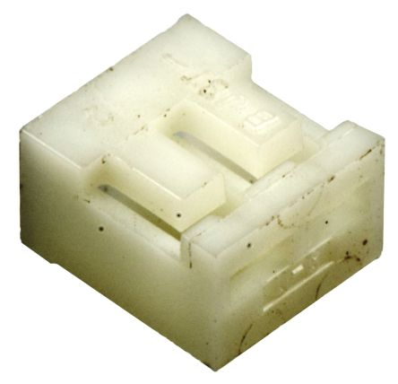 02P-SJN - Male Connector Housing - SJN, 2mm Pitch, 2 Way, 1 Row Side Entry product photo