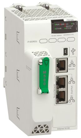 Schneider Electric Modicon M580 PLC CPU, Ethernet Networking Mini USB Interface, 4 MB Program Capacity, 24 V dc