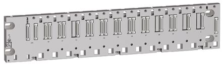Schneider Electric BMEXBP Backplane 12 Slots, DIN Rail Mount 503.2 x 105.11 x 19 mm