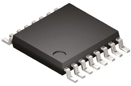 Analog Devices AD7357BRUZ, 14-bit Serial ADC Dual-Channel Differential Input, 16-Pin TSSOP
