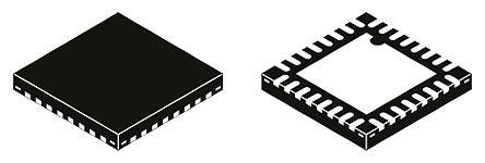 NB6L572MMNG, Clock Generator CML, LVDS, LVPECL CML 4-Input, 32-Pin QFN