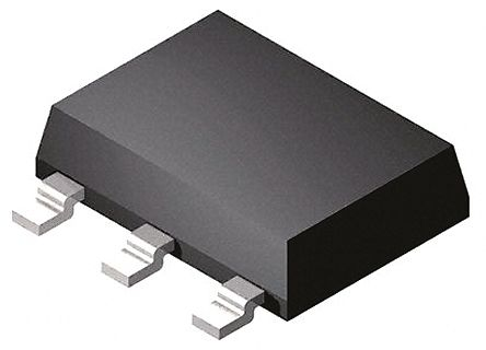 ON Semiconductor NCP1012ST100T3G, PWM Current Mode Controller, 550 mA, 110 kHz, -0.3 → 10 V, 3 + Tab-Pin SOT-223