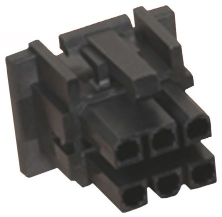 15-97-5041 - Female Connector Housing - Mini-Fit TPA, 4.2mm Pitch, 4 Way, 2 Row product photo