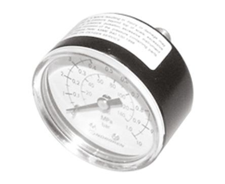 18-013-011 Analogue Positive Pressure Gauge Back Entry 4bar, Connection Size R 1/8 product photo