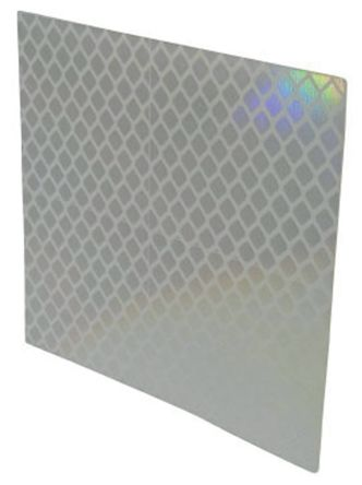 Sensor Reflector for use with E39 Series Photoelectric Sensors, 80 x 70 mm Rectangular product photo