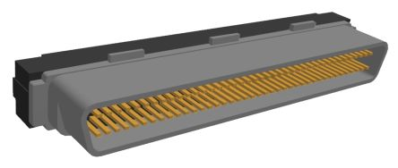 Amplimite .050 III Series, Male 80 Pin Straight Cable Mount SCSI Connector 1.27mm Pitch, IDC, No Latch product photo