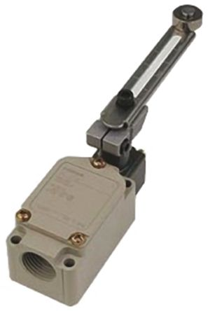 IP67 Snap Action Limit Switch, Roller Lever,, NO/NC, 500V