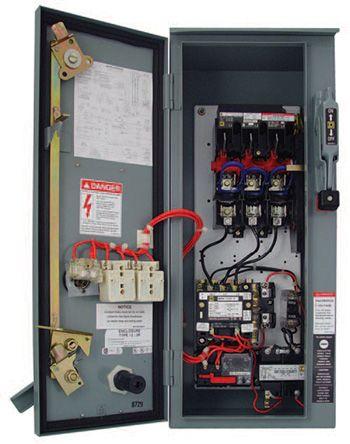 8539SDASP6 Schneider Electric | Schneider Electric 8539 Advanced Motor Starter 15 → 25 HP, 120 V, 50 A | 823-0331 | RS Components