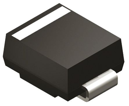 Diodes Inc SMBJ5.0CA-13-F, Bi-Directional TVS Diode, 600W, 2-Pin DO-214AA