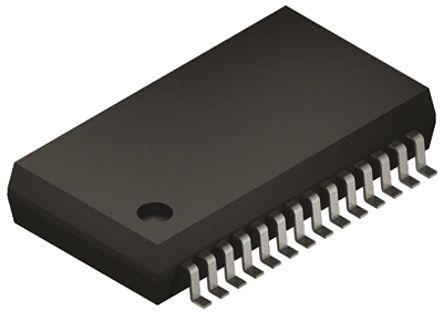 MCP3903-I/SS, Analogue Front End, 6-Channel 24 bit, 64ksps SPI, 28-Pin SSOP