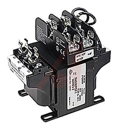 ABB 1000VA Panel Mount Transformer, 460V ac Primary, 115V ac Secondary