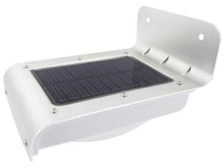 Plafoniere Con Pannello Solare : Ss faretto led solar centre con pannello