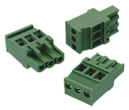 Wurth Elektronik 352, 8 Way 5 08mm Pitch Pluggable Terminal Block