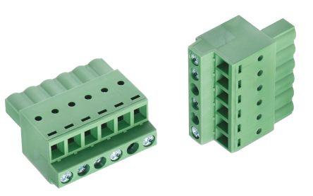 Wurth Elektronik 373B, 5 Way 5 08mm Pitch Pluggable Terminal Block