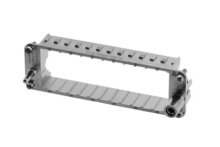 Heavy Mate F Series Male Frame, 6 Way, 1 Row, Rated At 100A, 500 V product photo