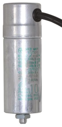 ebm-papst 10μF Polypropylene Capacitor PP Screw Mount 7320 Series