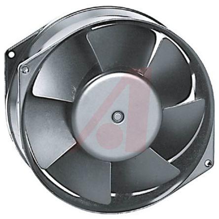 W2G115 Series Axial Fan, 150 x 55mm, 370m³/h, 16W, 24 V dc product photo