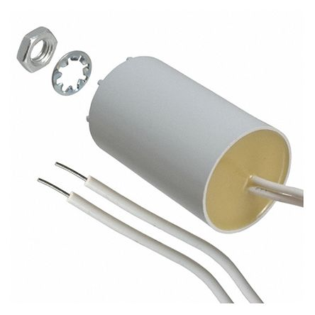 ebm-papst 8μF Polypropylene Capacitor PP Through Hole 9928 Series