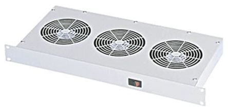 19in. Fan Tray, 3 Fans, 48V