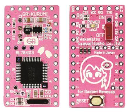Wakamatsu Tsusho Co Ltd MCU Development Board GR-KURUMI