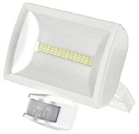 LED Floodlight 20W c/w PIR White
