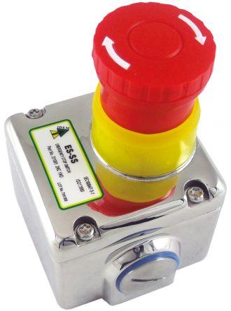 0e98b3c495 231001 | IDEM, Red/Unpainted, Twist to Reset 40mm Round Head ...