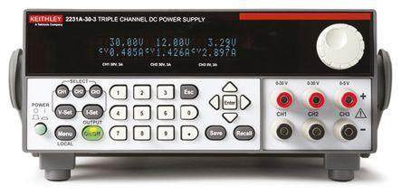Bench Power Supply 2231A-30-3 Analogue, Digital 195W, 3 Output 0 -> 5 V, 2 x 0 -> 30 V product photo